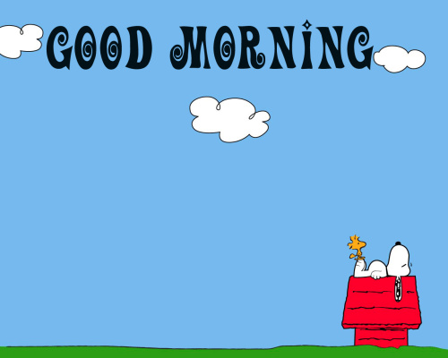 Snoopy good morning Images Photo for Whatsapp