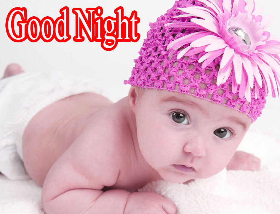 GOOD NIGHT IMAGES WITH CUTE BABY BOYS & GIRLS WALLPAPER PIC FOR WHATSAPP