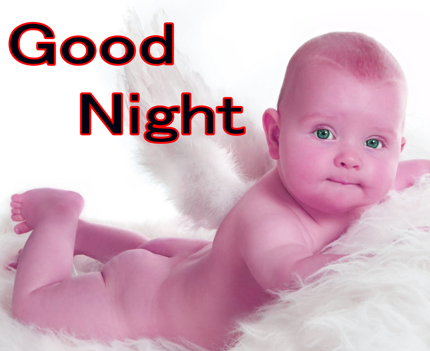GOOD NIGHT IMAGES WITH CUTE BABY BOYS & GIRLS PICS PICTURES