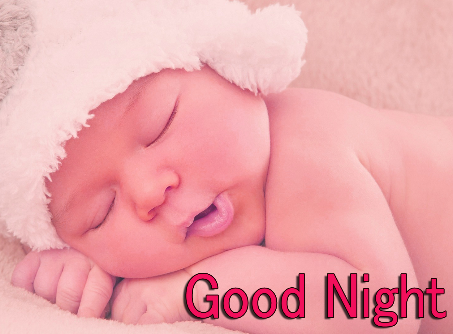 GOOD NIGHT IMAGES WITH CUTE BABY BOYS & GIRLS WALLPAPER PICTURES DOWNLOAD