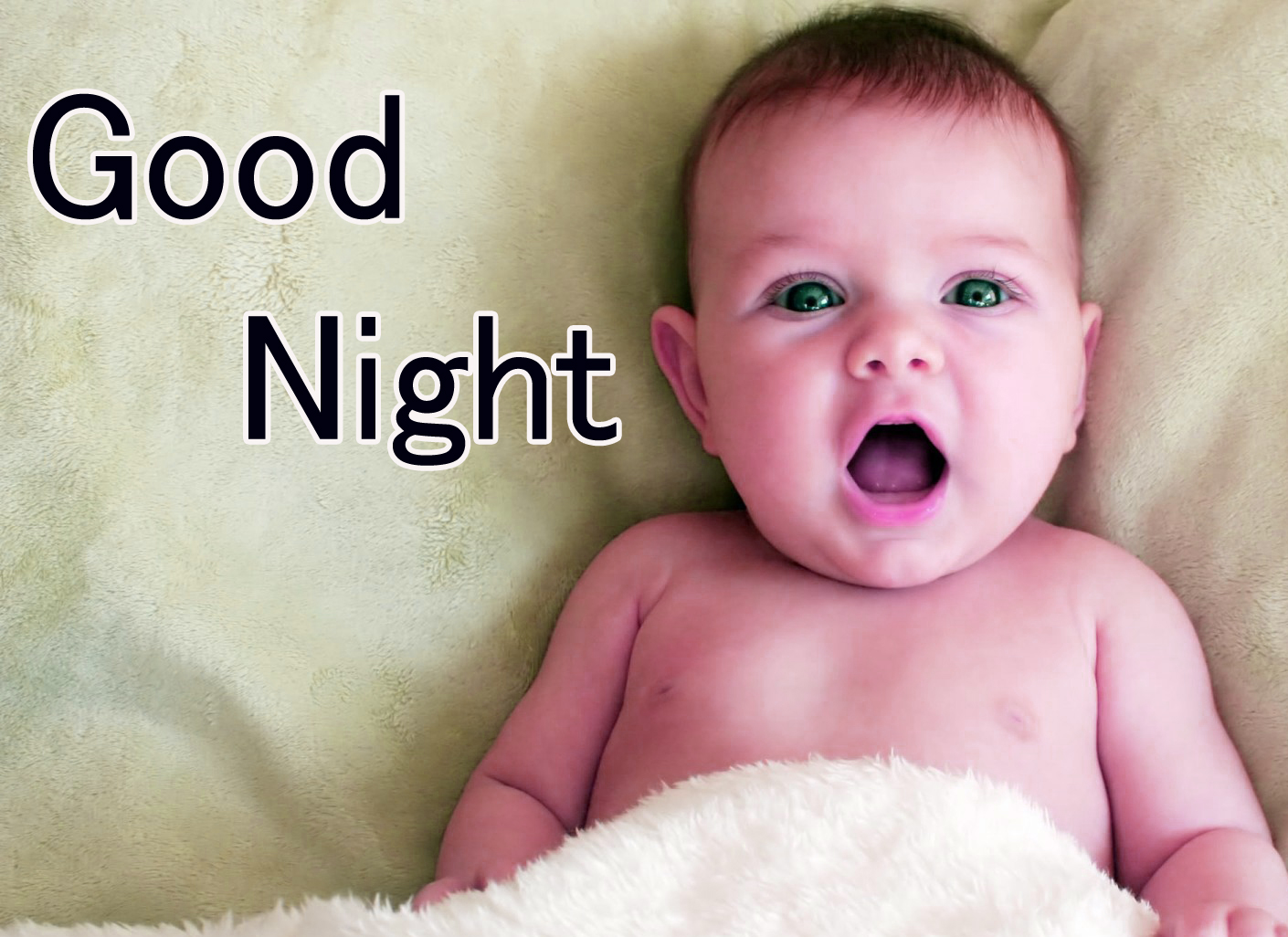 GOOD NIGHT IMAGES WITH CUTE BABY BOYS & GIRLS PICS DOWNLOAD FOR WHATSAPP
