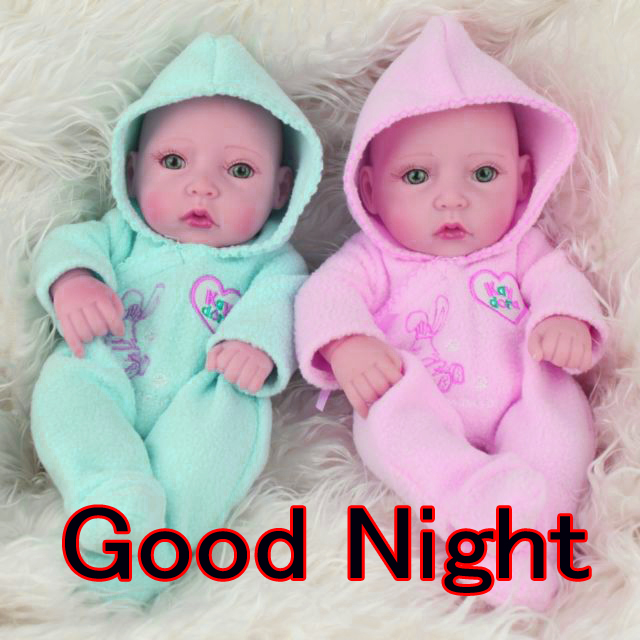 GOOD NIGHT IMAGES WITH CUTE BABY BOYS & GIRLS WALLPAPER PICS FREE FOR FACEBOOK