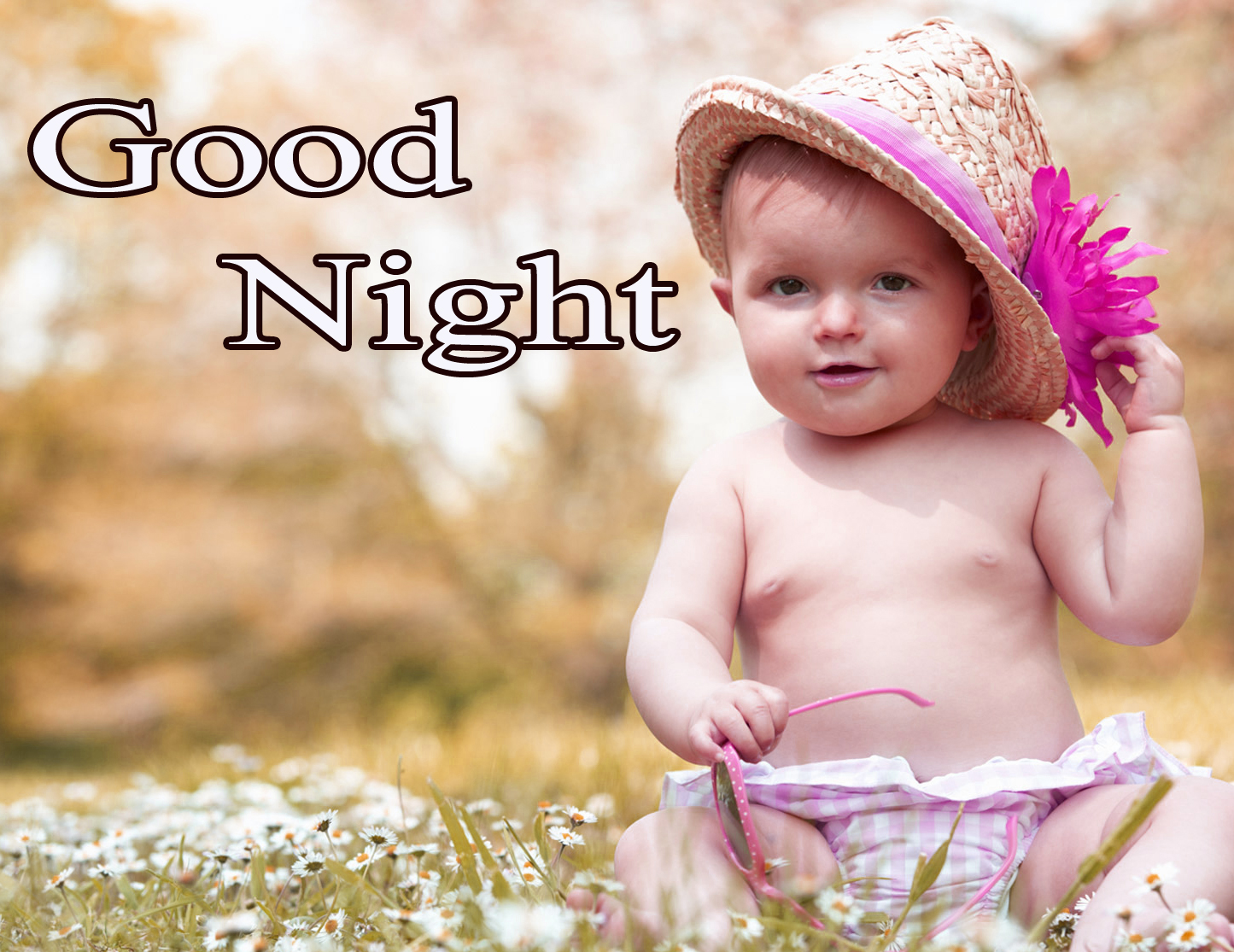 GOOD NIGHT IMAGES WITH CUTE BABY BOYS & GIRLS WALLPAPER PICS FOR FACEBOOK