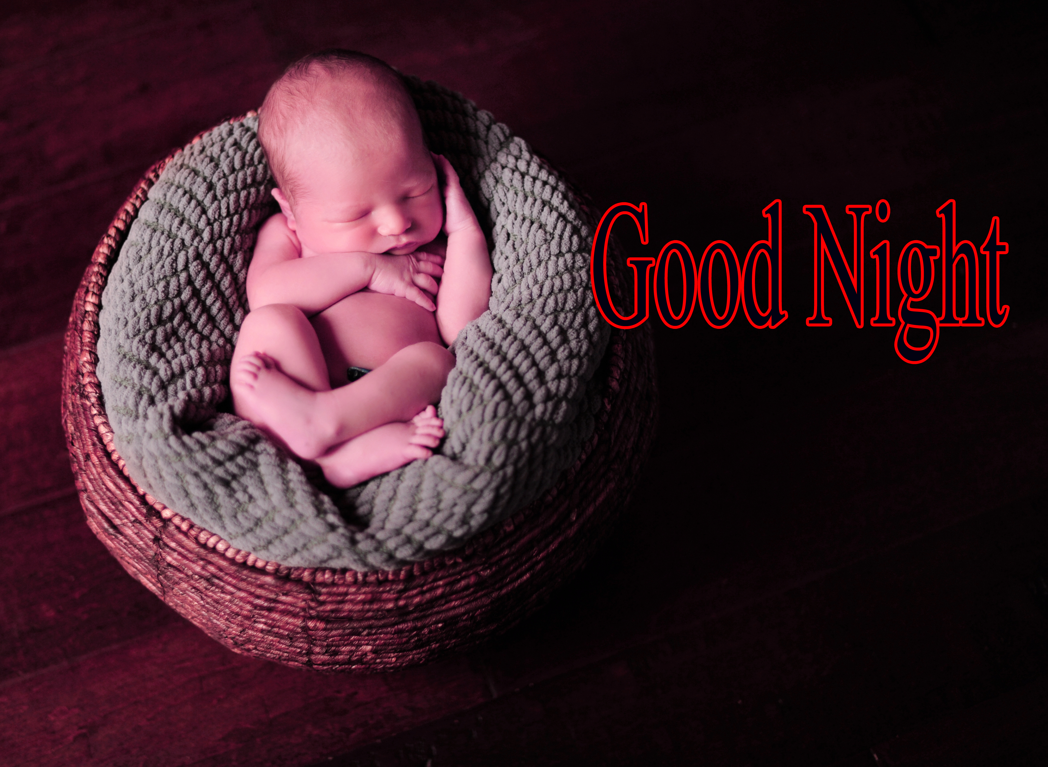 GOOD NIGHT IMAGES WITH CUTE BABY BOYS & GIRLS WALLPAPER PICS FREE FOR WHATSAPP