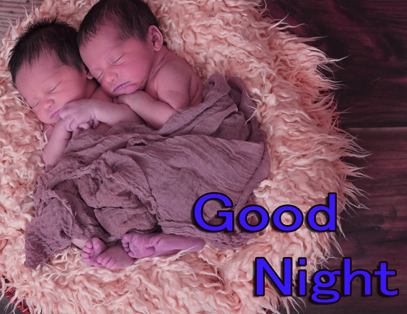 GOOD NIGHT IMAGES WITH CUTE BABY BOYS & GIRLS WALLPAPER FOR WHATSAPP