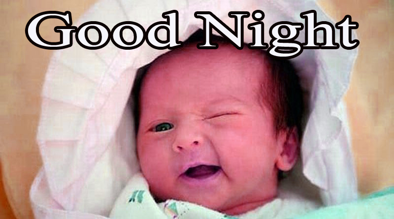 GOOD NIGHT IMAGES WITH CUTE BABY BOYS & GIRLS PICS PHOTO FOR WHATSAPP