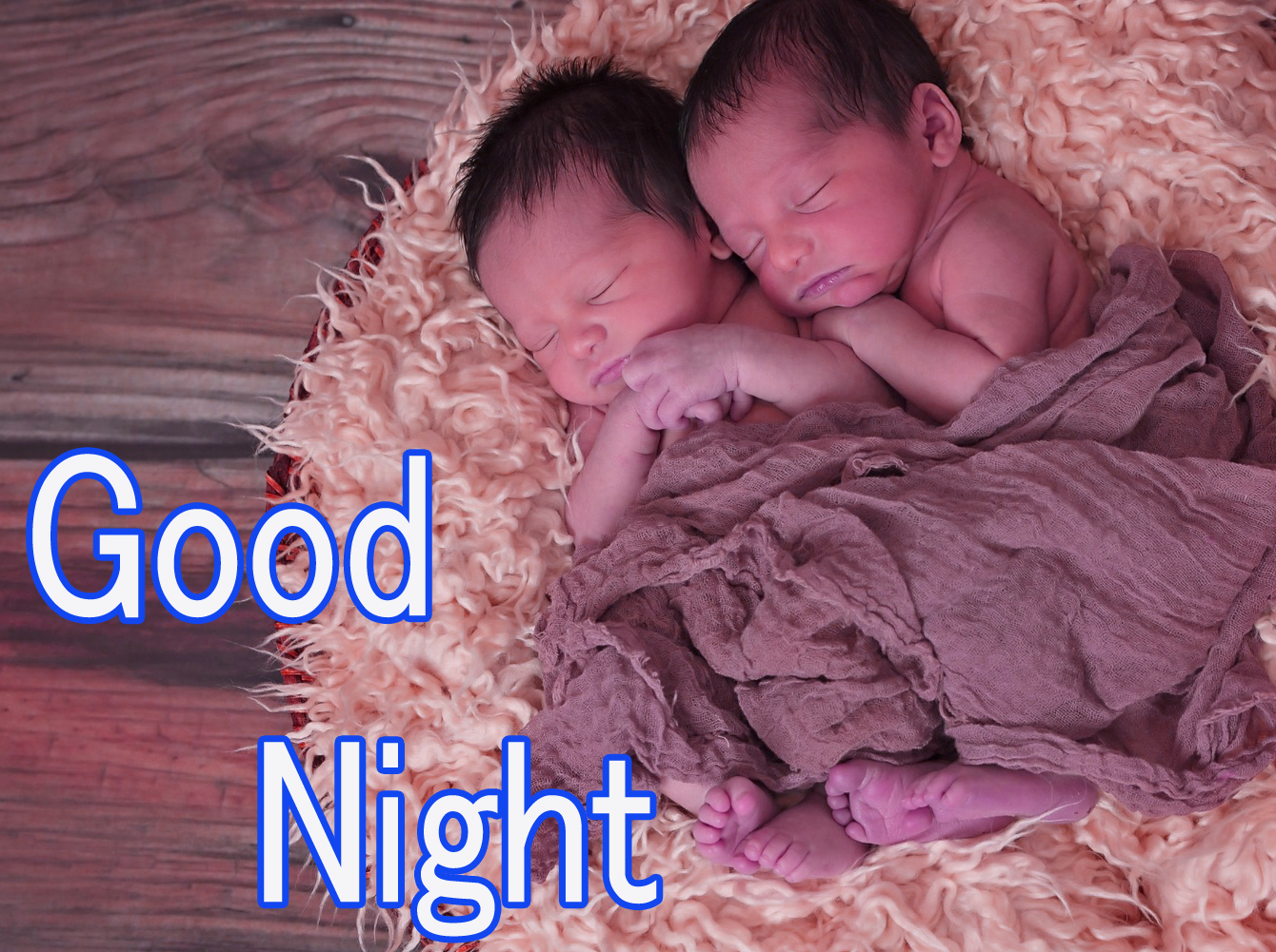 GOOD NIGHT IMAGES WITH CUTE BABY BOYS & GIRLS WALLPAPER PICS FREE DOWNLOAD