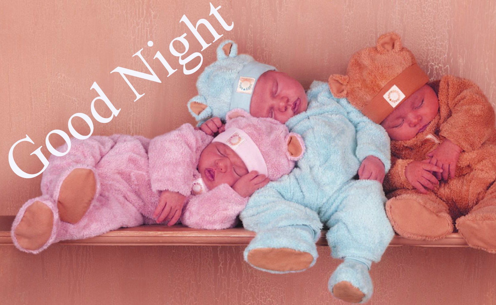 GOOD NIGHT IMAGES WITH CUTE BABY BOYS & GIRLS WALLPAPER PICS DOWNLOAD