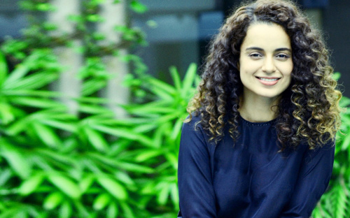 Bollywood Superstar Kangana Ranaut Photo Wallpaper