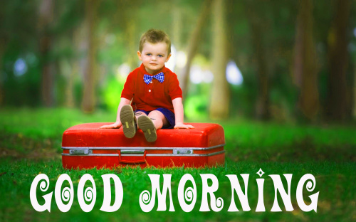 Cute Baby Good Morning Images Photo for Facebook