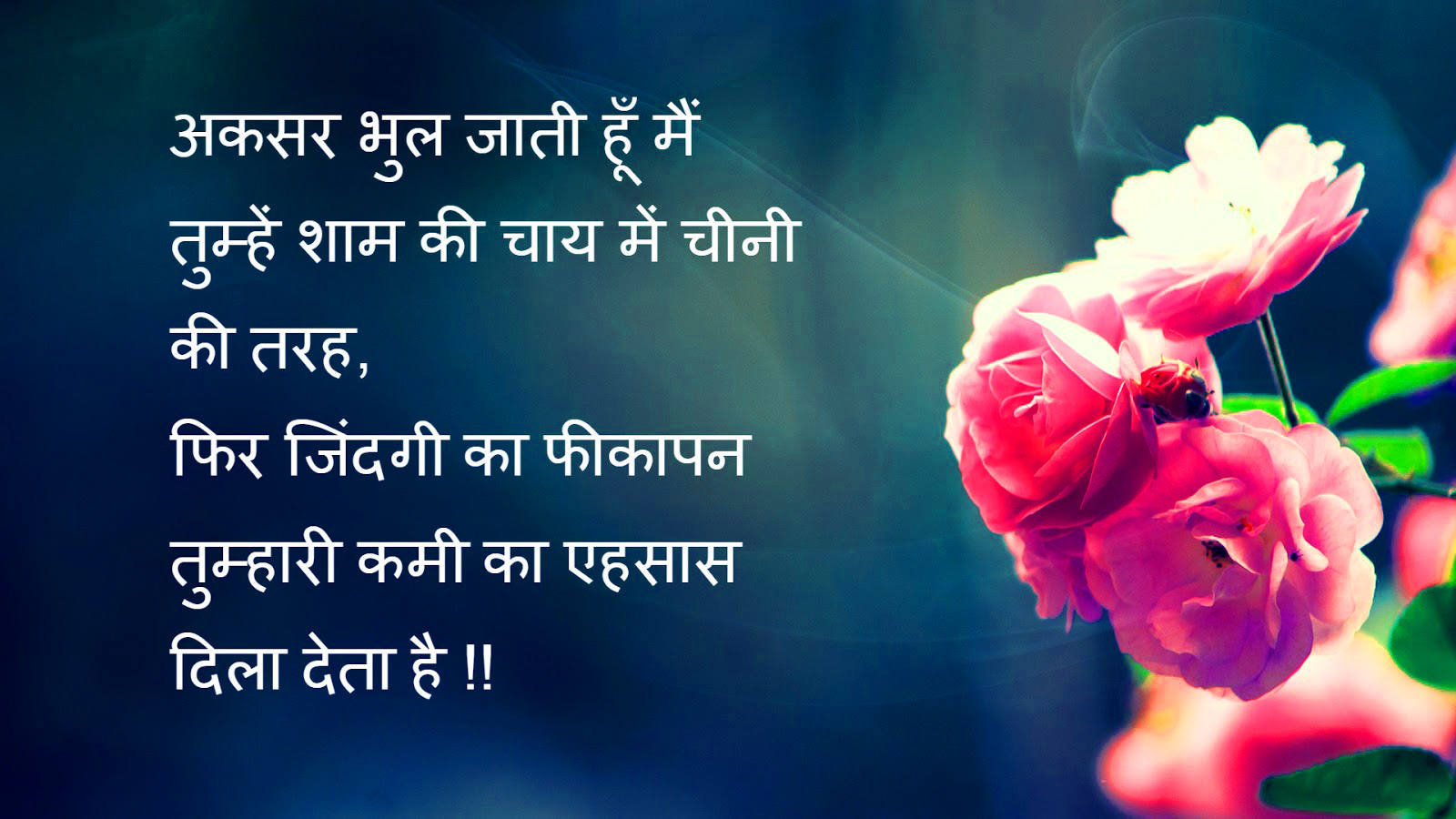 Sad Love Romantic Life Best Hindi Shayari Images Photo Download shayari (1)