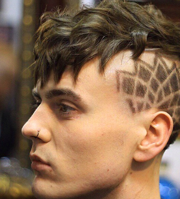 BOYS HAIR STYLISH DESIGN IMAGES PHOTO WALLPAPER FOR WHATSAPP
