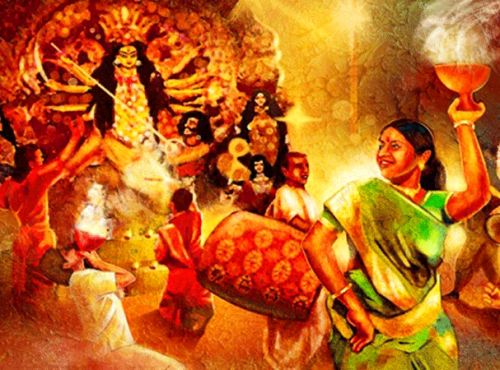 Image result for durga pujA wallpaper