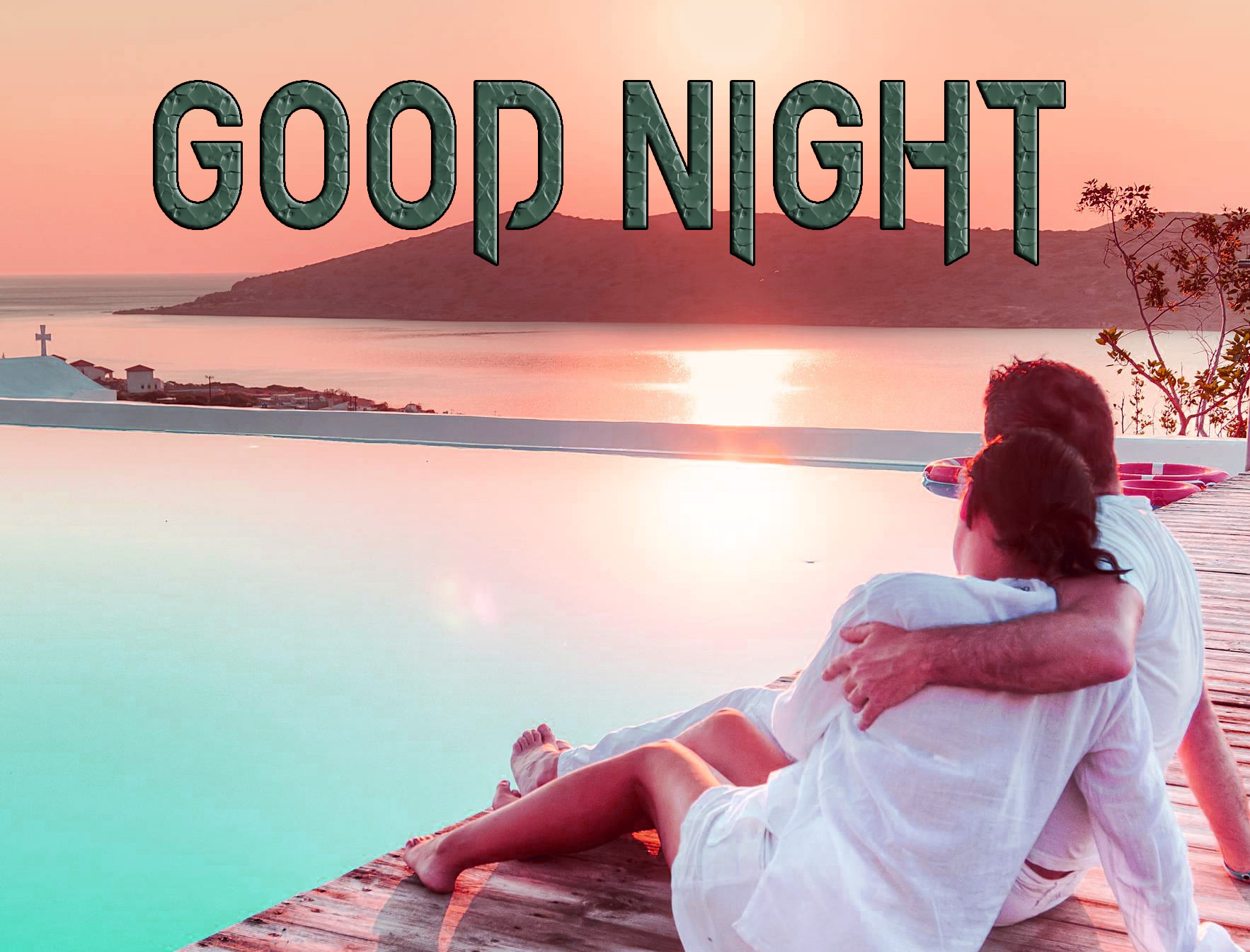 GOOD NIGHT IMAGES FOR LOVER / LOVE COUPLE  IMAGES WALLPAPER PICS WITH COUPLE