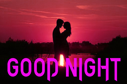 NEW GOOD NIGHT / GD NIGHT FLOWER NATURE ART IMAGES PHOTO WITH ROMANTIC COUPLE
