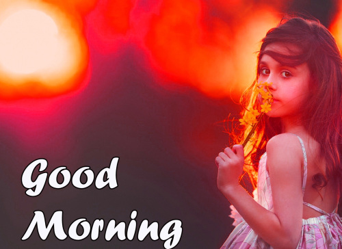 VERY CUTE GOOD MORNING IMAGES WALLPAPER PHOTO FOR WHATSAPP