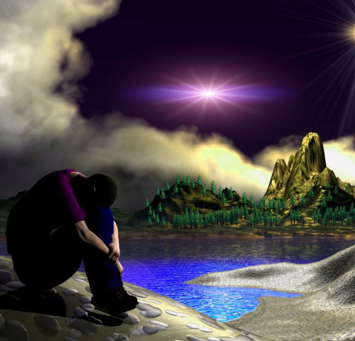 ALONE BOY SAD IMAGES WALLPAPER PHOTO DOWNLOAD