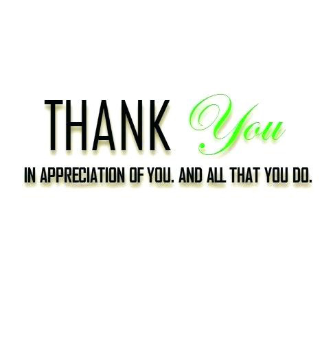 Appreciation Thank You Quotes Images (95)