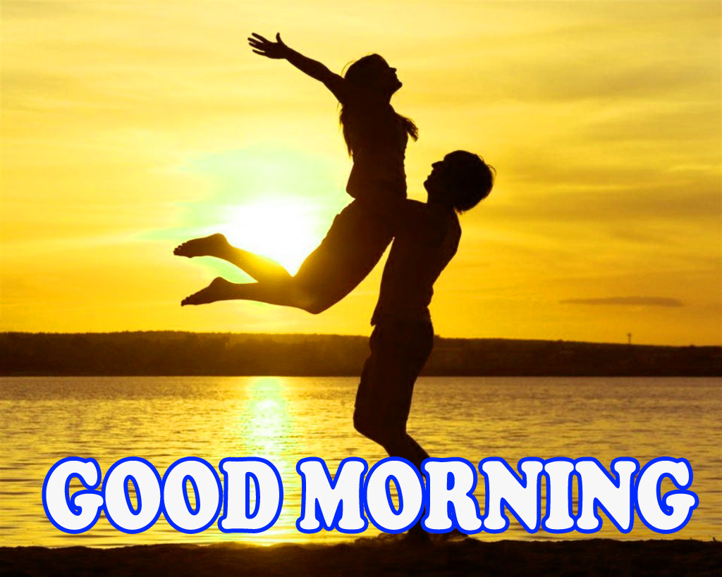 Good morning Images Wallpaper for Romantic Love Couple