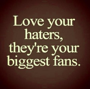 Love Haters Quotes With Photo Wallpaper Pictures HD Download