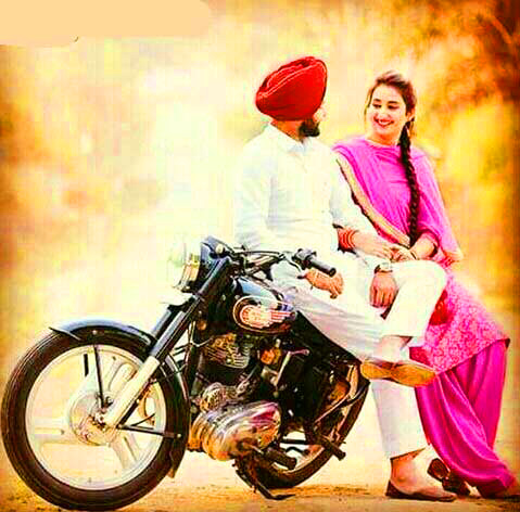 Sweet Cute Punjabi Wedding Lover Love Couple Pictures Wallpaper Download