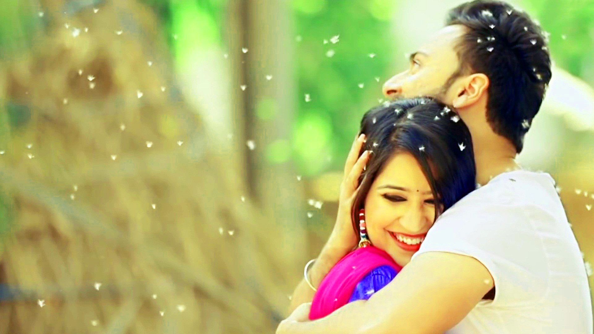 Sweet Cute Punjabi Wedding Lover Love Couple Photo Wallpaper Pictures Download