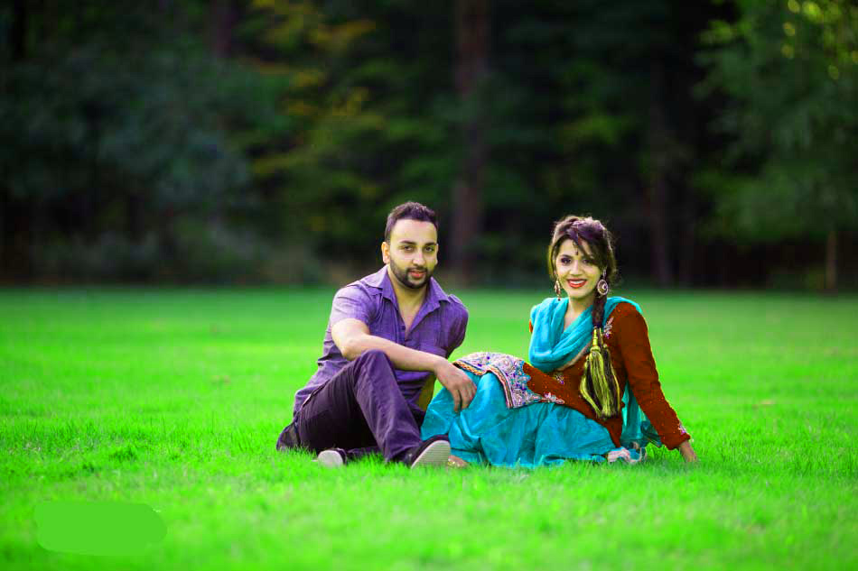 Sweet Cute Punjabi Wedding Lover Love Couple Photo Pictures Images Free HD