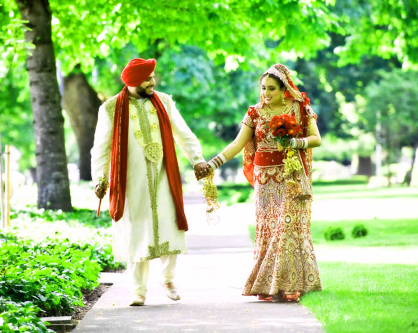Sweet Cute Punjabi Wedding Lover Love Couple Pictures Images HD Download