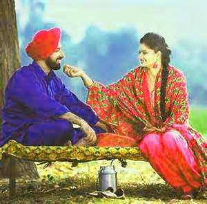 Sweet Cute Punjabi Wedding Lover Love Couple Wallpaper Pictures HD