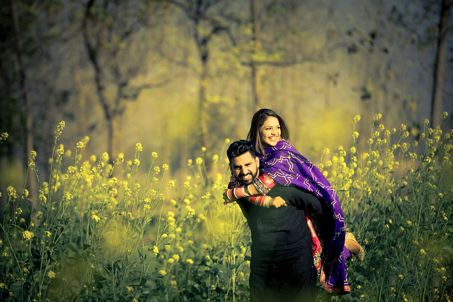 Sweet Cute Punjabi Wedding Lover Love Couple Pictures Images Photo HD Download