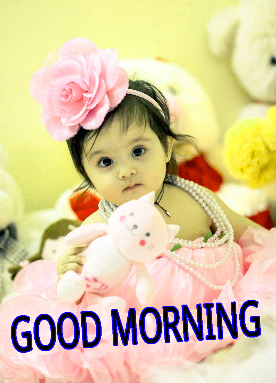 Good Morning Indian Cute baby Girls Boys images Pics  Wallpaper Pictures Download