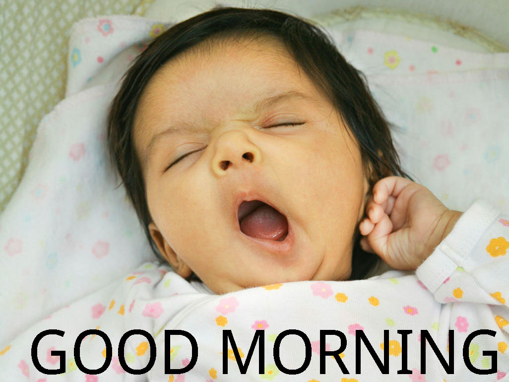 Good Morning Indian Cute baby Girls Boys images Photo Pics Free HD Download