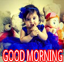 Good Morning Indian Cute baby Girls Boys images Photo Wallpaper HD Download