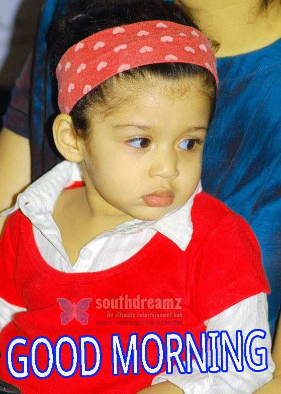 Good Morning Indian Cute baby Girls Boys images Pictures Pics Free Download