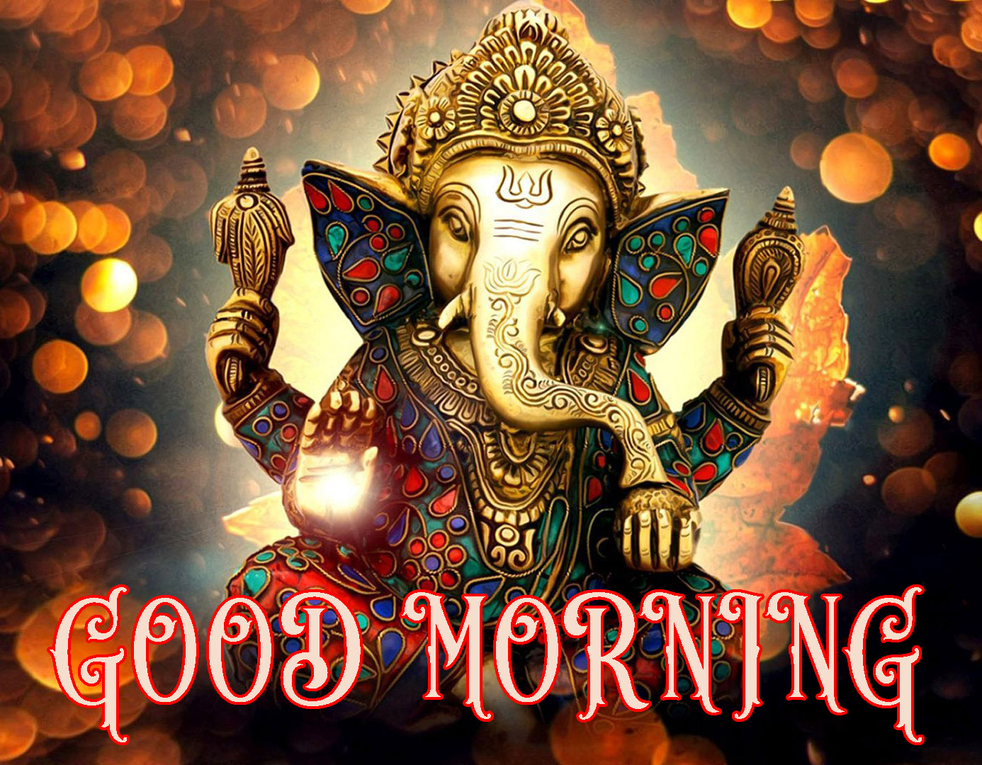 Hindi Quotes Ganesh Good Morning Images Wallpaper Pictures Photo pics Download For Facebook