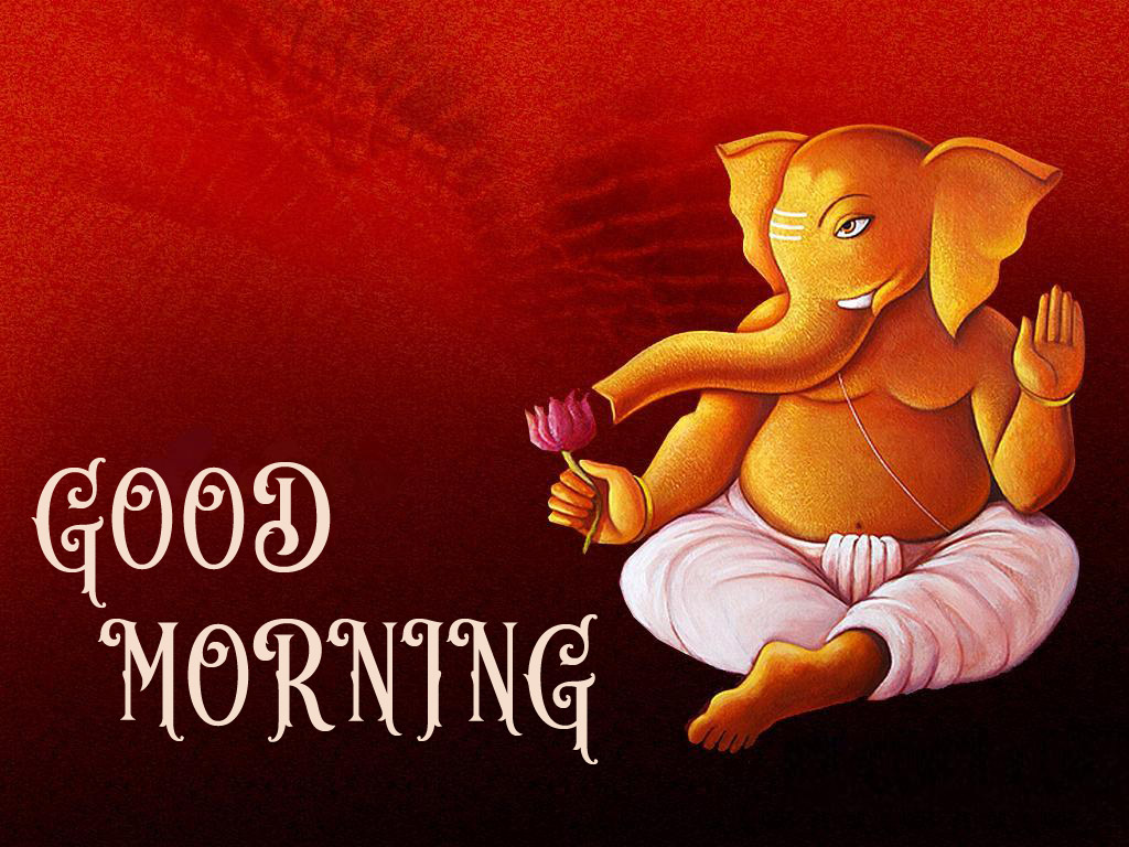 Hindi Quotes Ganesh Good Morning Images Wallpaper Pictures Photo pics Free HD