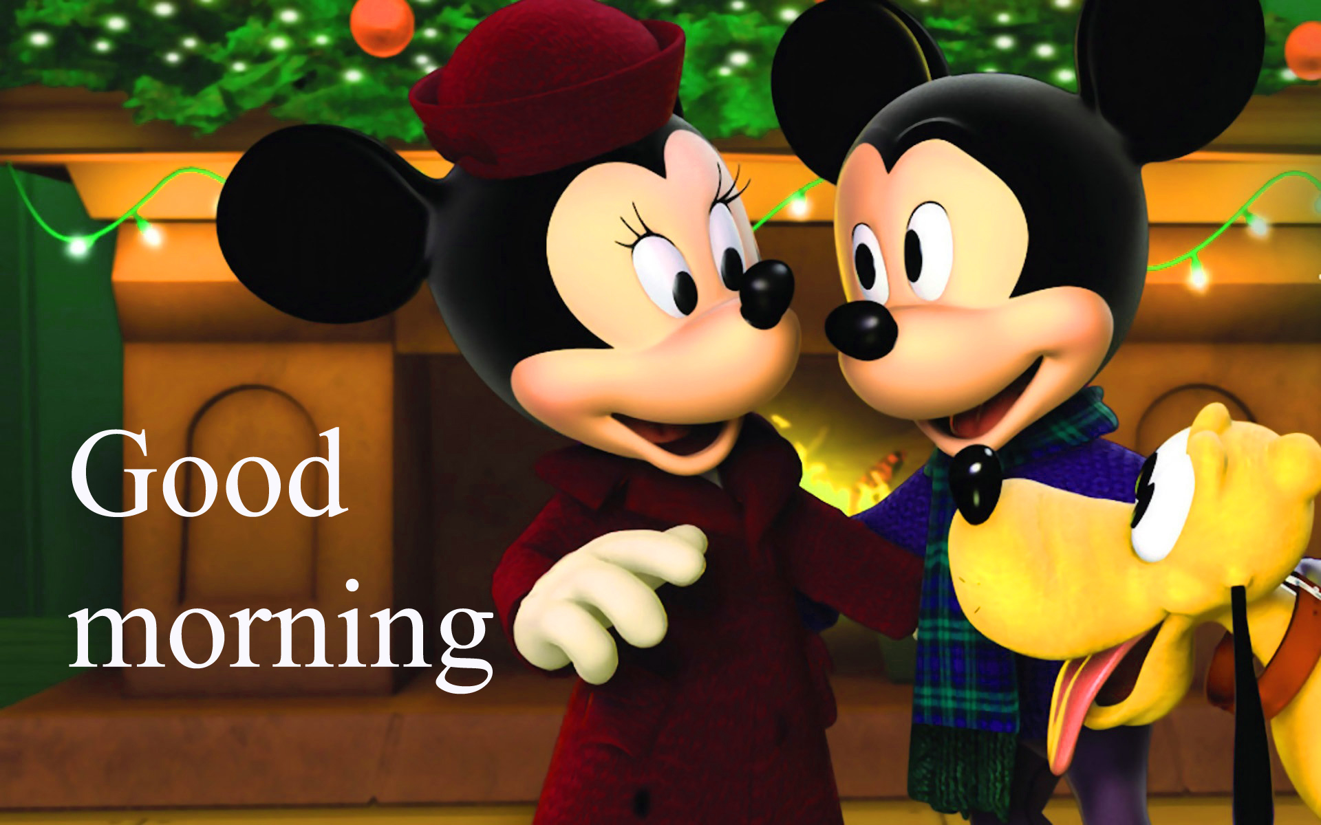 Good morning  wishes with mickey Images Photo Wallpaper HD Download