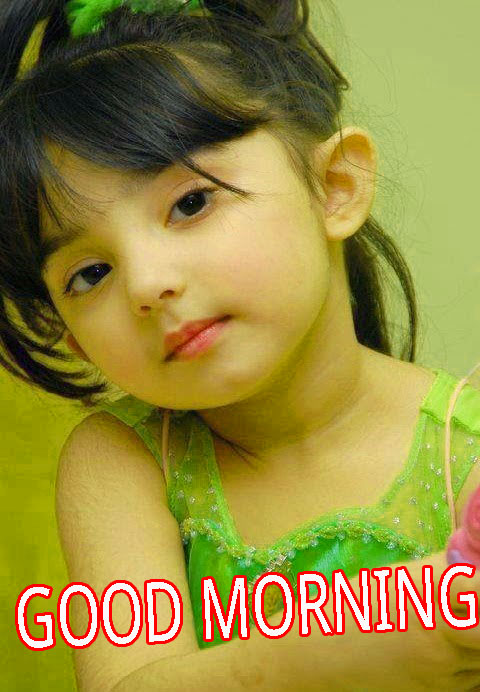 Good Morning Indian Cute baby Girls Boys images Pictures Pics Free HD Download