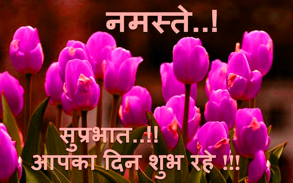 Suprabhat Images Wallpaper Pics With Flower