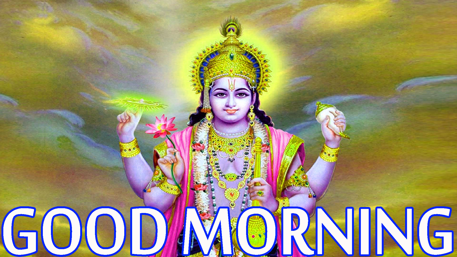 Hindu God Religious Good Morning Images Wallpaper Photo HD Download