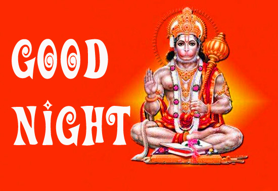 God Good Night Images Wallpaper Pictures With Hanuman JI