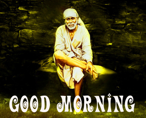 Sai Baba Good Morning Images Wallpaper Pics Download