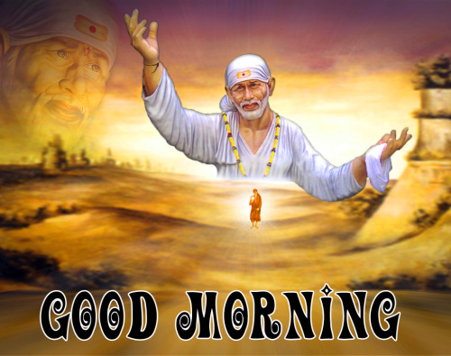 Sai Baba Good Morning Images Photo for Whatsapp
