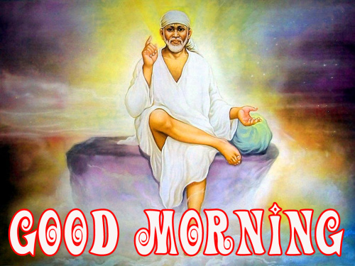 Sai Baba Good Morning Images Pics HD