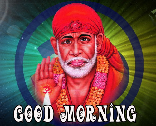 Sai Baba Good Morning Images Pics Pictures for Facebook