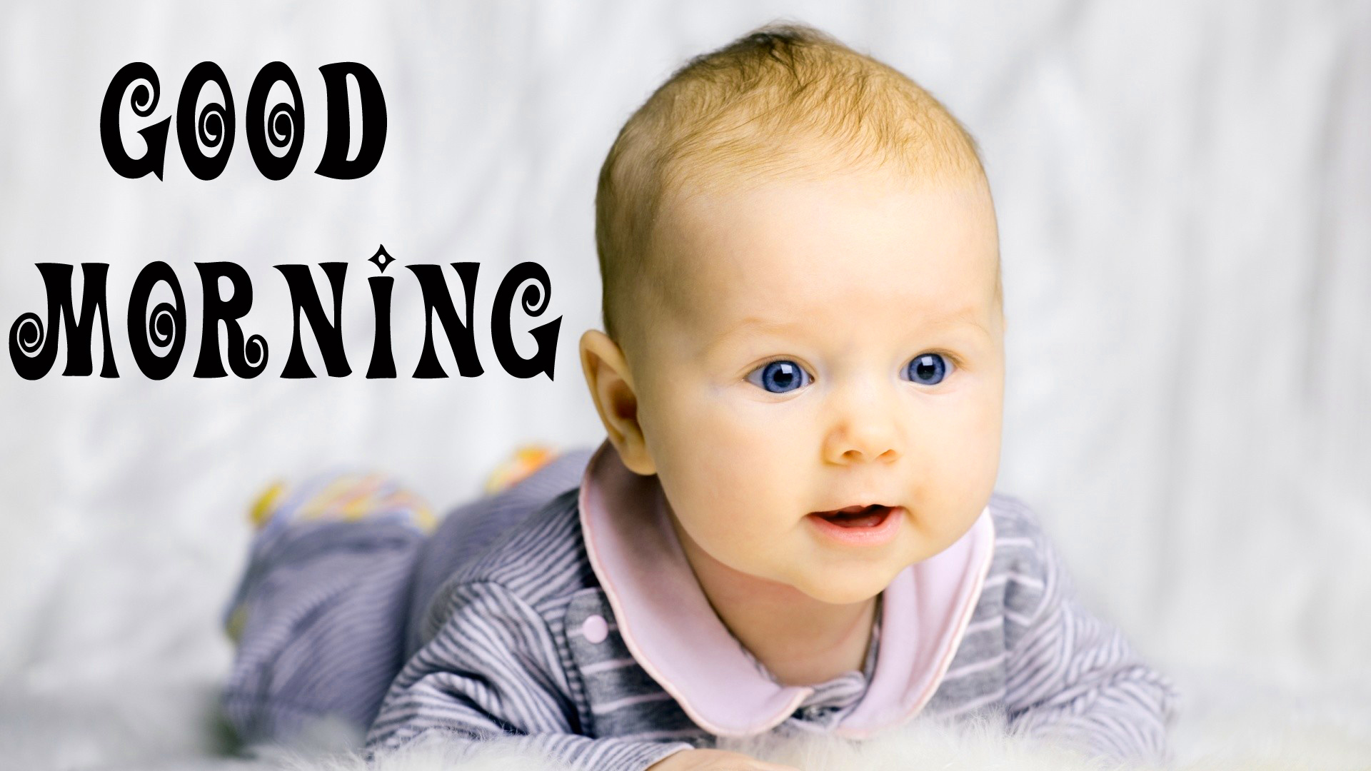 cute Baby Good Morning Images Pics Pictures Download