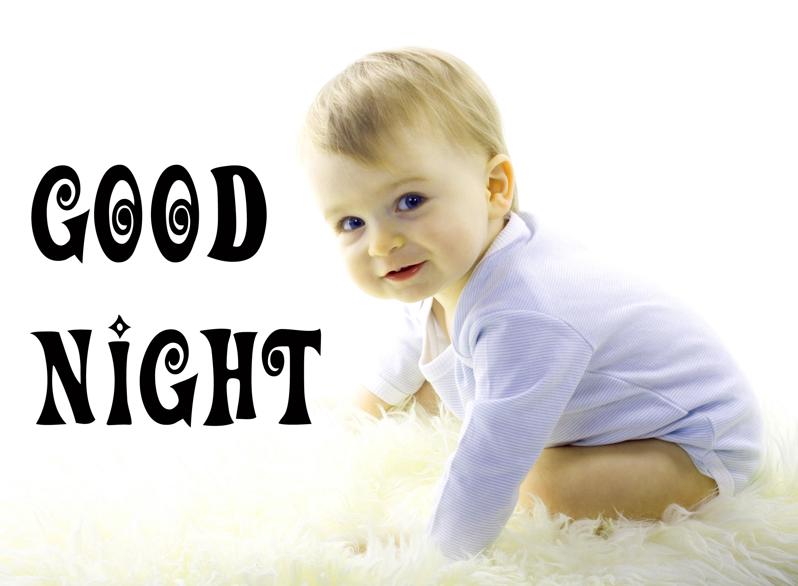 Cute Baby Good Night Images Wallpaper Pic Download