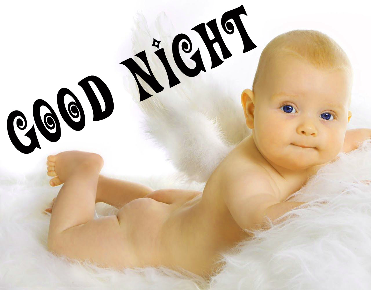 Cute Baby Good Night Images Pics Pictures Wallpaper HD
