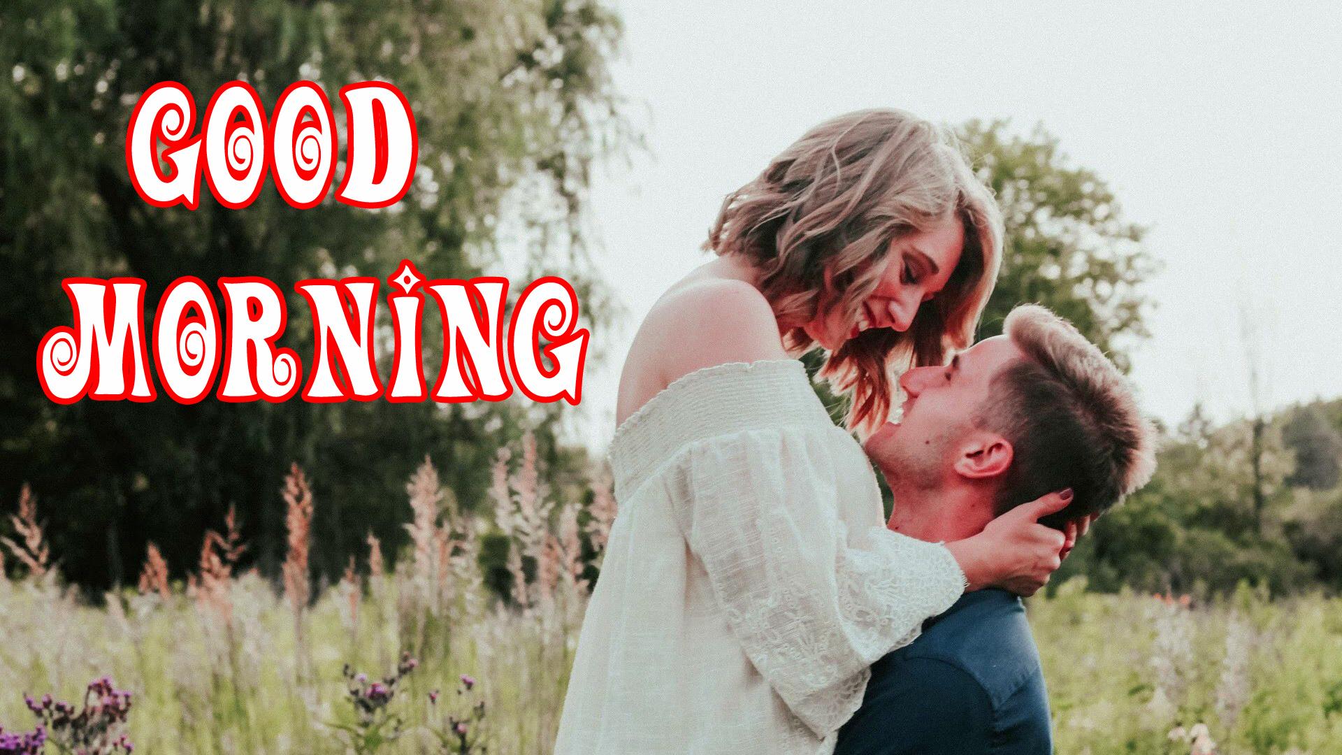 sweet romantic good morning image Pic Wallpaper for Facebook