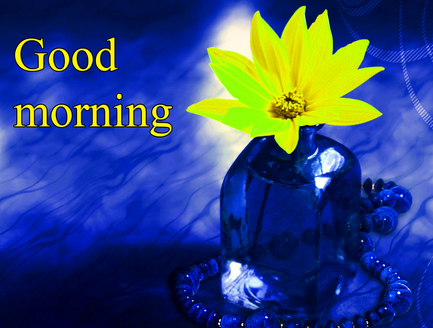 LORD SHIVA GOOD MORNING WISHES IMAGES WALLPAPER WITH FLOWER